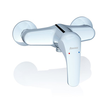 Rosa wall-mounted shower mixer taps