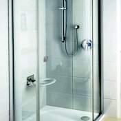 Rosa built-in tap without diverter used in the Pivot PSKK3 shower enclosure