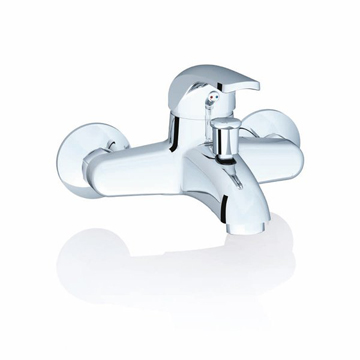 Rosa wall-mounted bathtub mixer taps