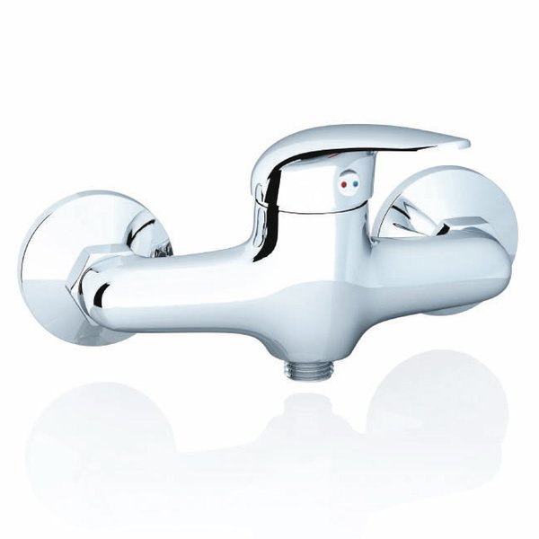 Suzan wall-mounted shower tap, 150 mm