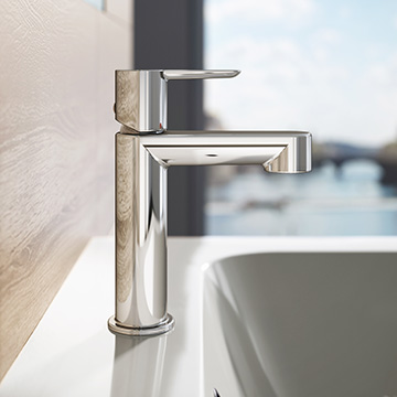 Washbasin water taps