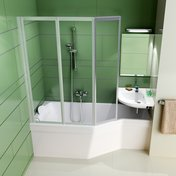 BeHappy bathtub with covering panel