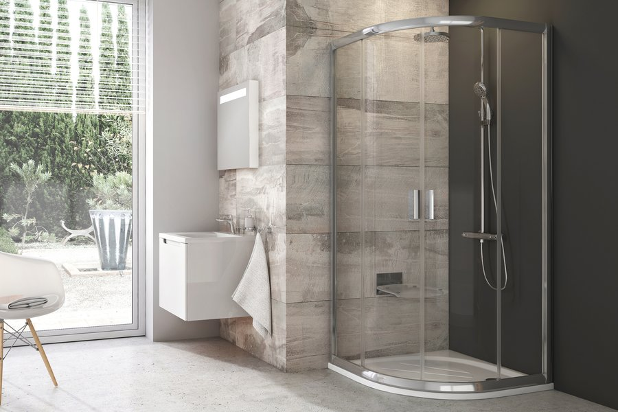 Quadrant shower enclosures - RAVAK a.s.