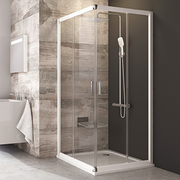 Blix shower enclosures and shower doors