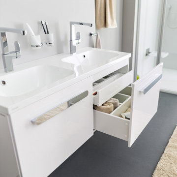 Furniture, washbasins and toilet
