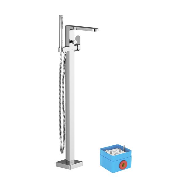 Floor-mounted bath water taps, CR 080.00 - RAVAK a.s.