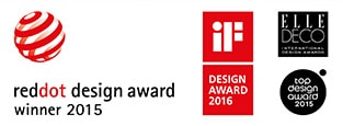 The 10° bathroom concept received a prestigious international product design award
