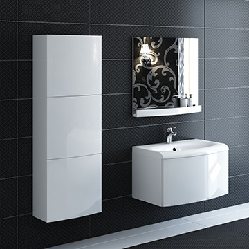 Evolution bathroom furniture