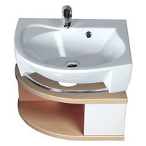 SDU Rosa cabinet under washbasin