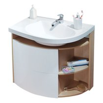 SDU Rosa Comfort cabinet under washbasin
