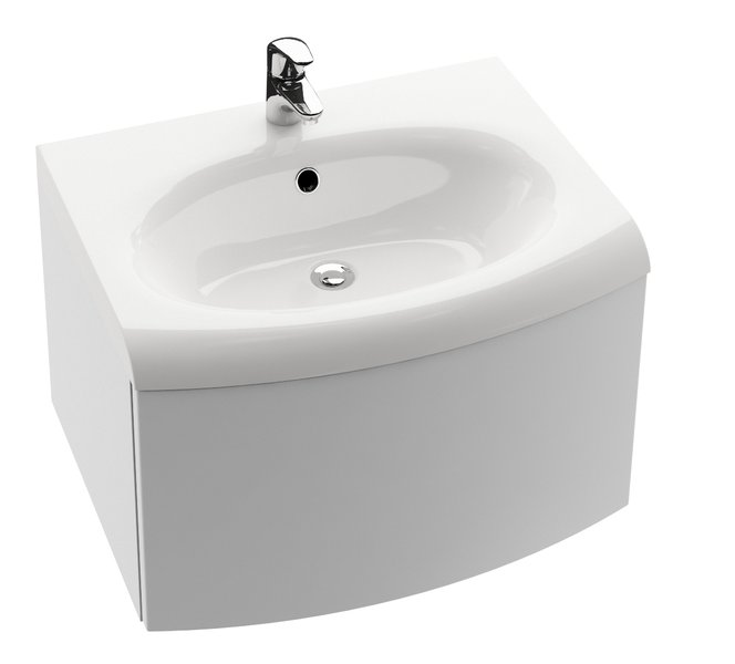 Cabinet under SDS Evolution washbasin with a drawer