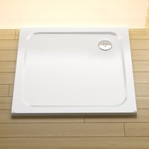 Perseus Pro Chrome shower tray