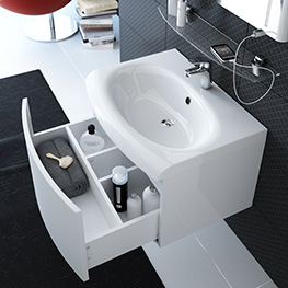 Evolution washbasins
