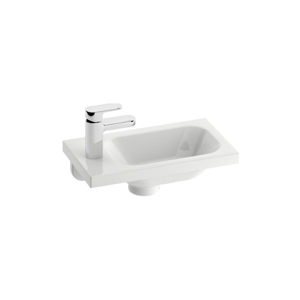 Small Washbasins : small washbasin chrome 400 fits even the smallest spaces it allows the ...