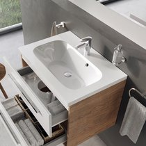 Chrome 600/700/800 washbasin