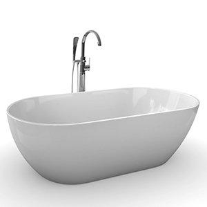 Freedom O freestanding acrylic bathtub