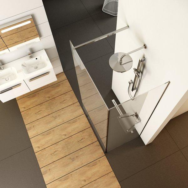 Walk-in shower enclosure, corner model - RAVAK a.s.