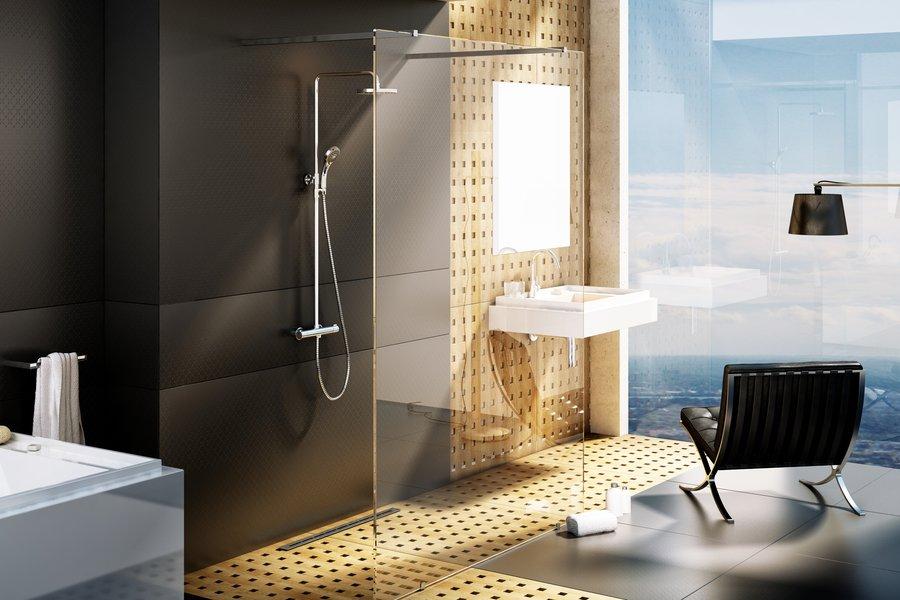 Walk-in shower enclosure, free model - RAVAK a.s.