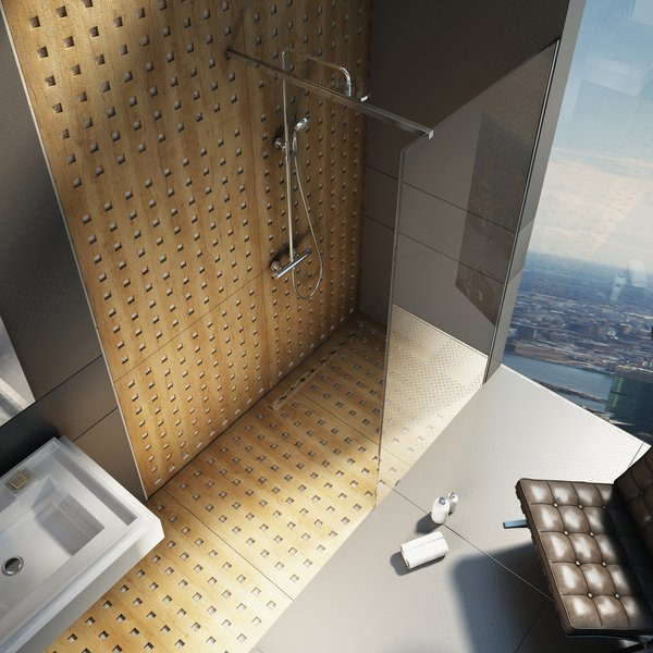 Walk In Shower Enclosure Wall Model Ravak A S